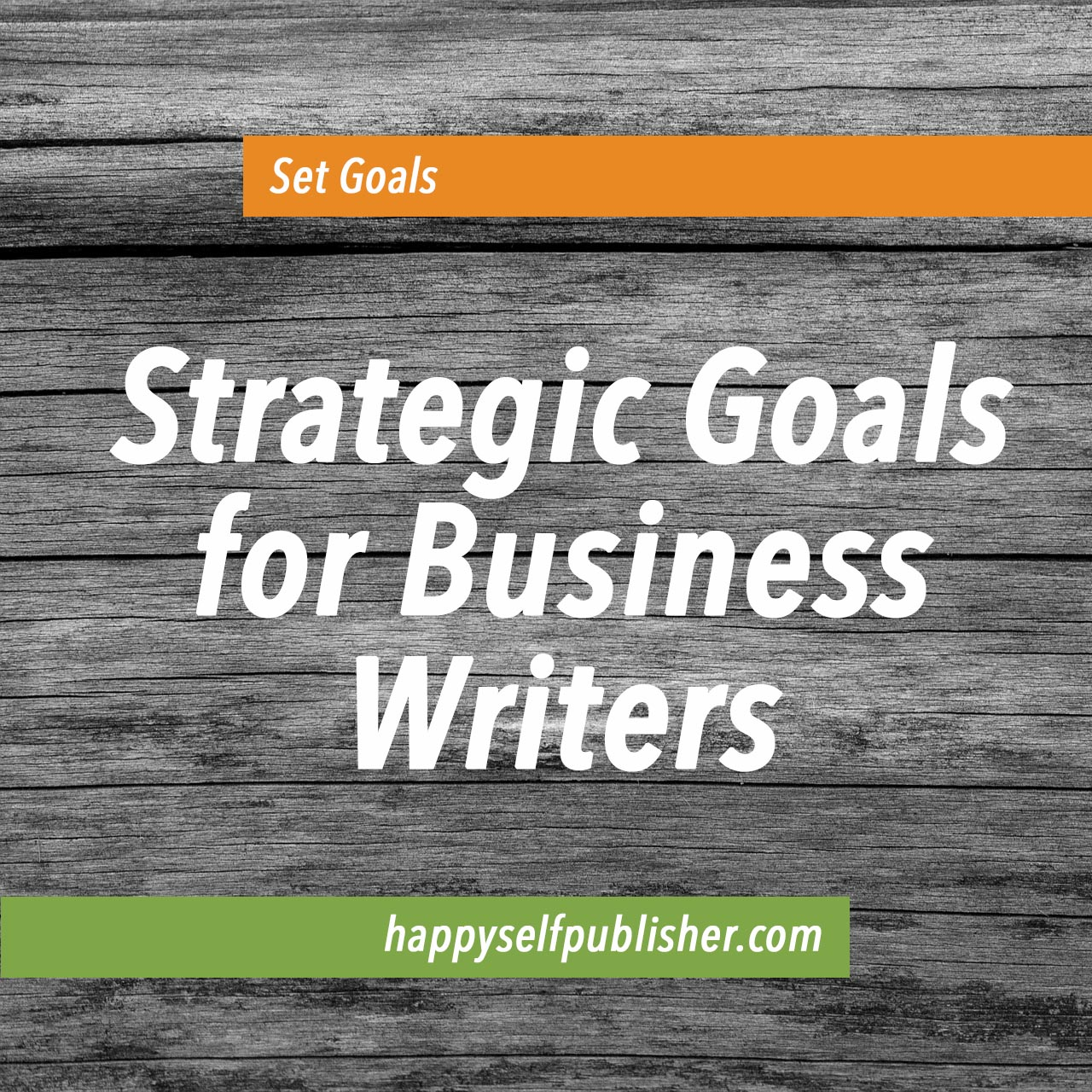goals for writers