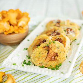 Savory Chanterelle Mushroom Pancakes Recipe