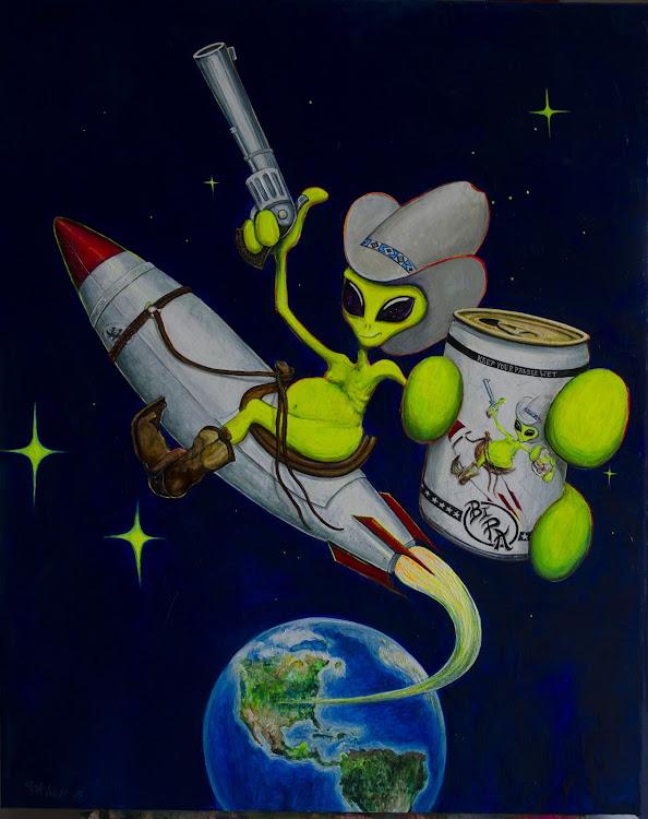 Logo of Logboat Yeah, Bye Earth