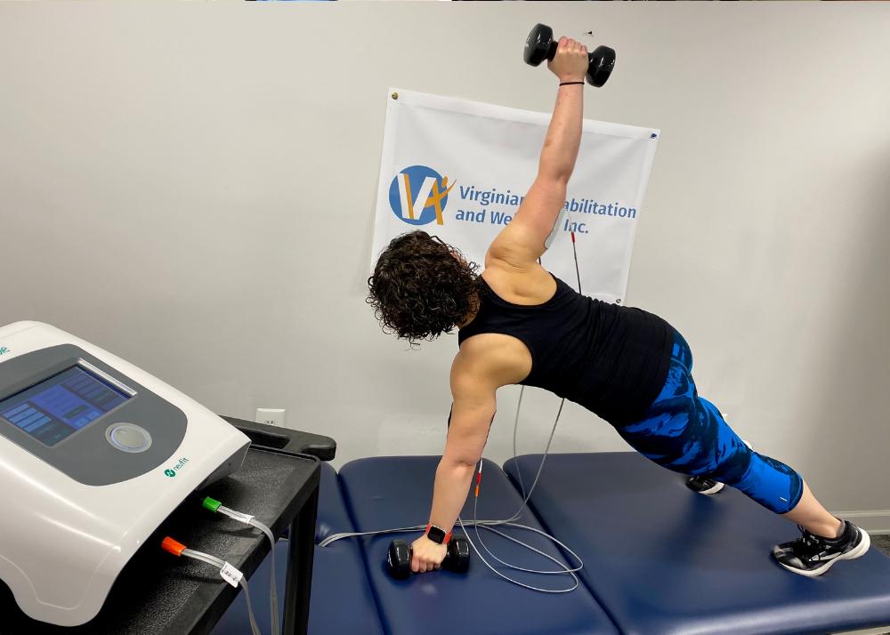 Training with NEUBIE at Virginian Rehabilitation and Wellness