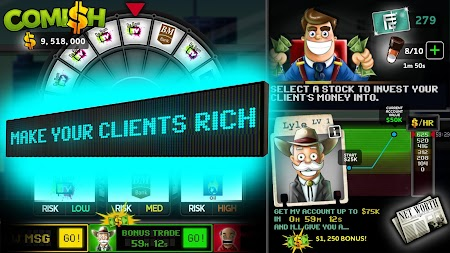 Comish Clicker - Idle Tycoon PRO APK screenshot thumbnail 2