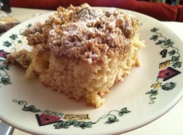 Lots-of-crumbs Coffee Cake Recipe