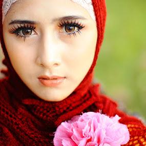 Moslem by Ibenks Lima - People Portraits of Women