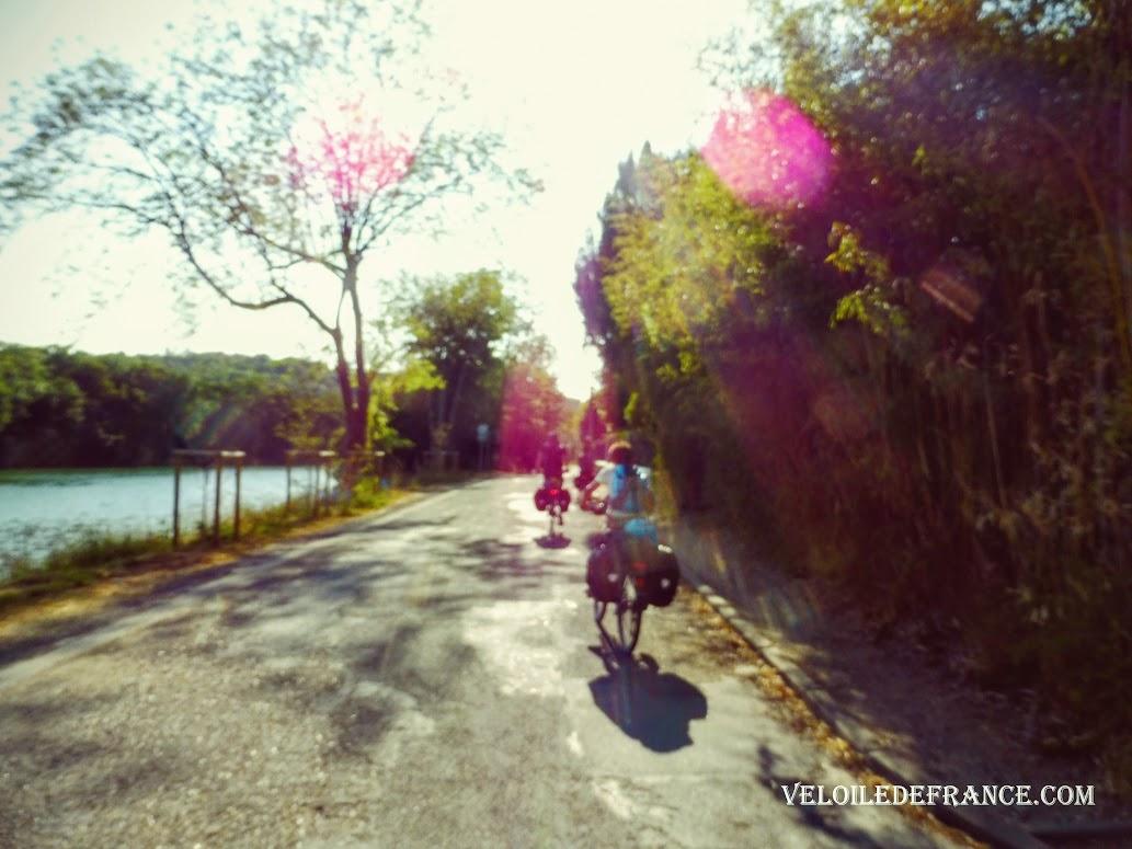 Croissy sur Seine - Paris Londres à vélo par veloiledefrance.com