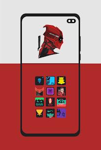 Supercons Dark – The Superhero Icon Pack (MOD, Paid) v2.0 2
