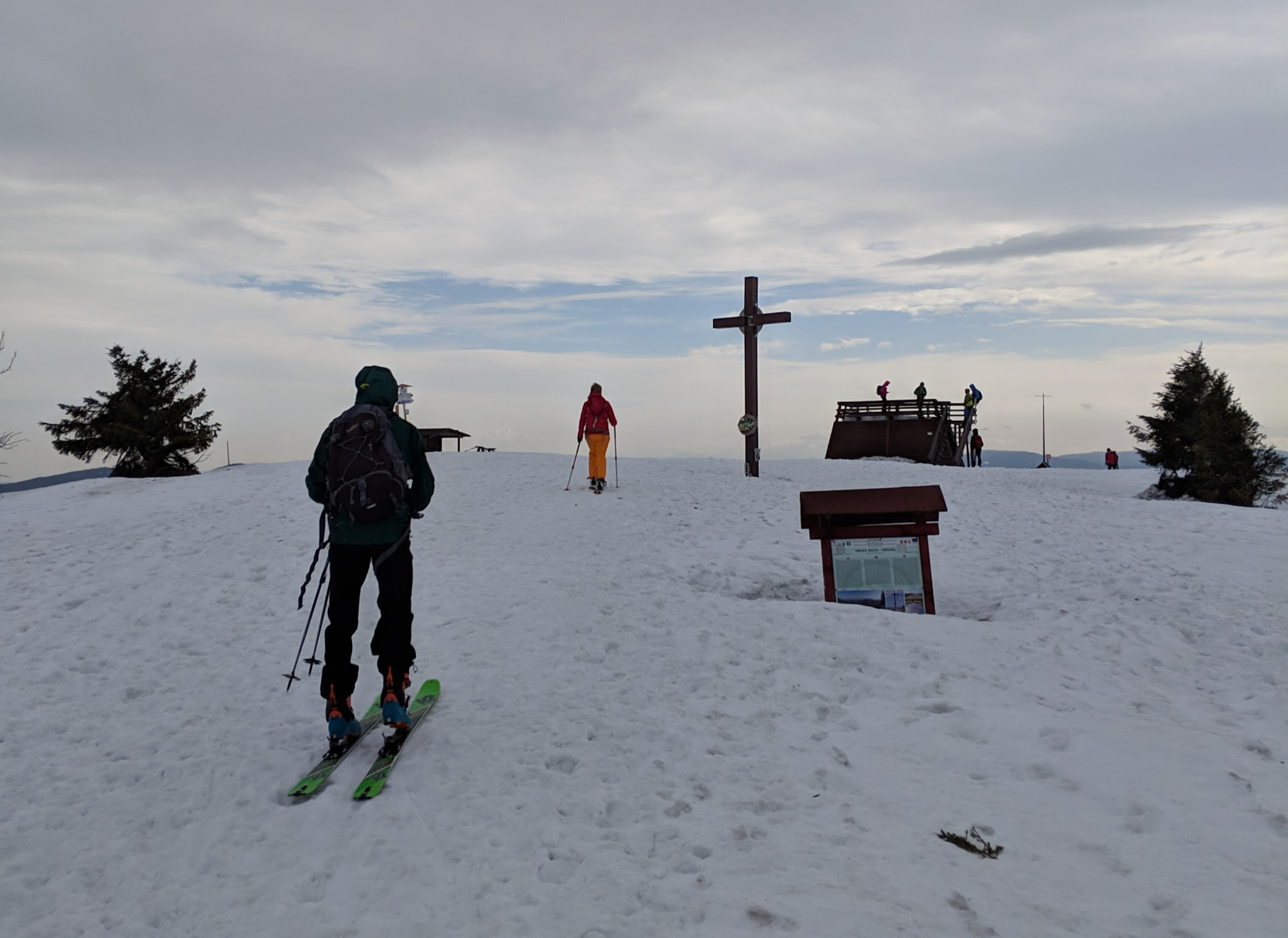 Velka Raca skitour (Slovakia) - Feb 19
