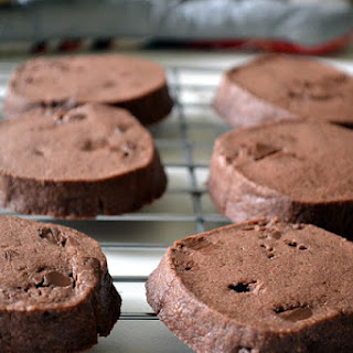 Maida Heatter's Chocolate Shortbread Cookies