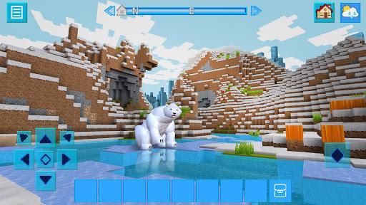 AdventureCraft: 3D Block Building & Survival Craft  10