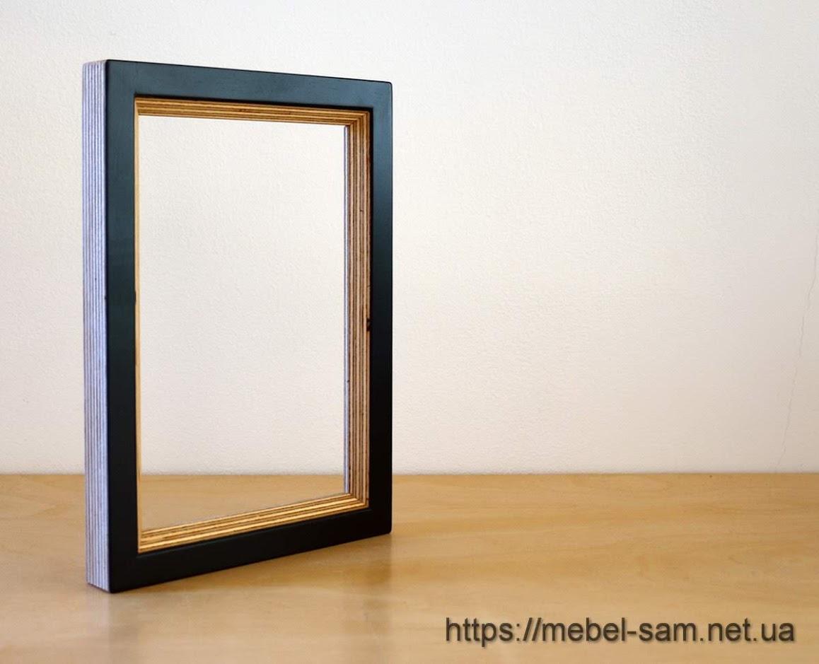 Рамка для фотографий изготовленная из фанеры