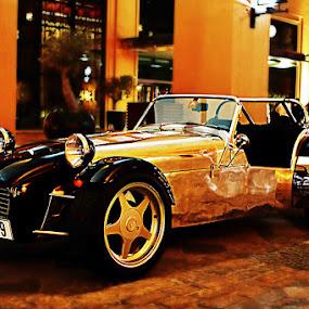 Exotic Car  by Lan Saflor - Transportation Automobiles