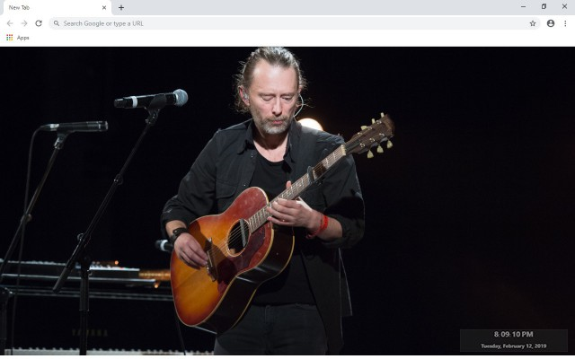 Radiohead New Tab & Wallpapers Collection