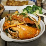 delicious crab at Hing Kee Restaurant in Kowloon in Hong Kong, , Hong Kong SAR