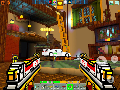Cops N Robbers - 3D Pixel Craft Gun Shooting Games 9.8.4 Screenshots 11