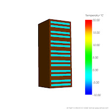 Photo: Anordnung der Lufteinschlüsse der simulierten Bauteilausschnitte Var 4