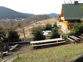Photo: 01.Domostwa na Przełęczy Przegibek (990 m).