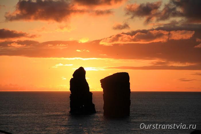 Закат на Азорских островах, Сан Мигель