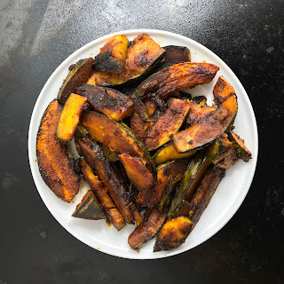 Sauteed Kabocha with Sake and Soy Sauce Recipe