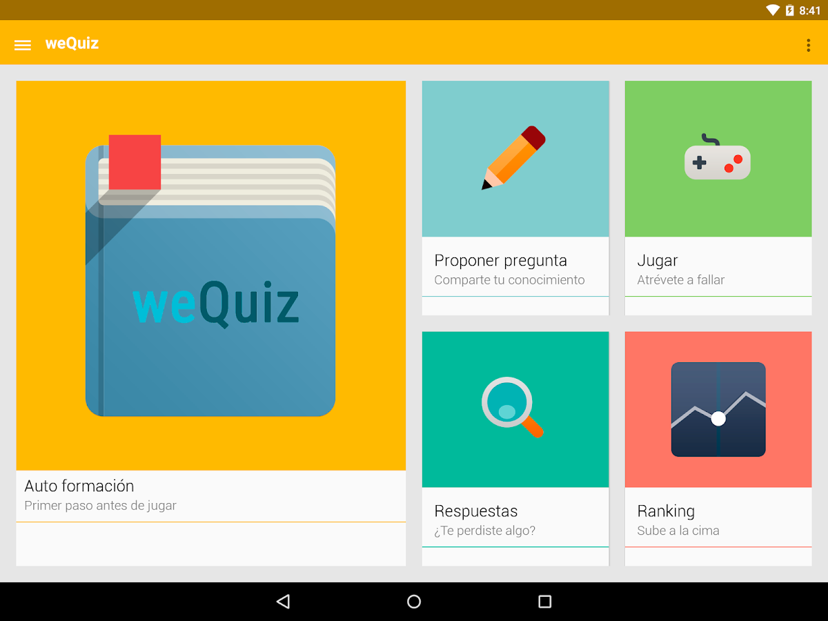 weQuiz- screenshot