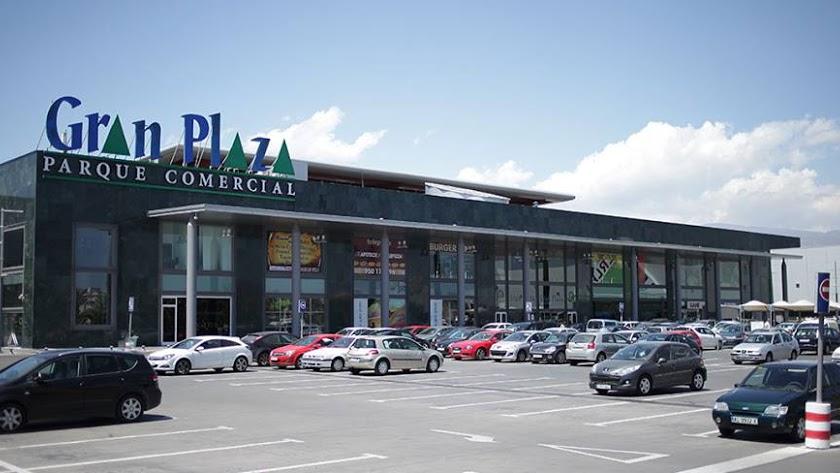 Imagen del Centro Comercial Gran Plaza de Roquetas de Mar.