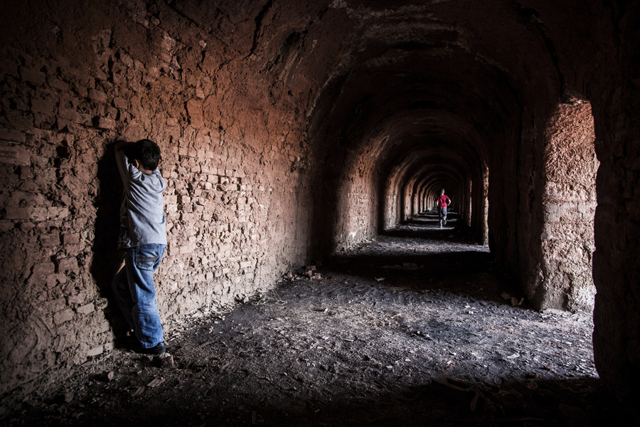 hide and seek by Salih Arikan - People Street & Candids