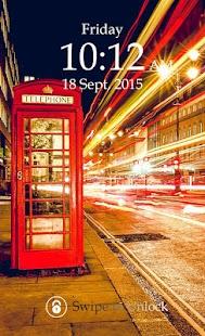 London Keypad Screen Lock screenshot