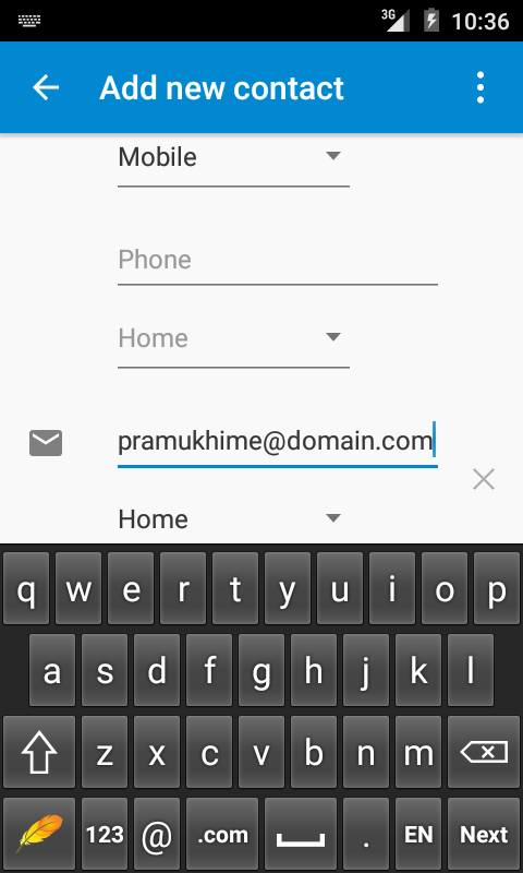 PramukhIME Indic Keyboard- screenshot