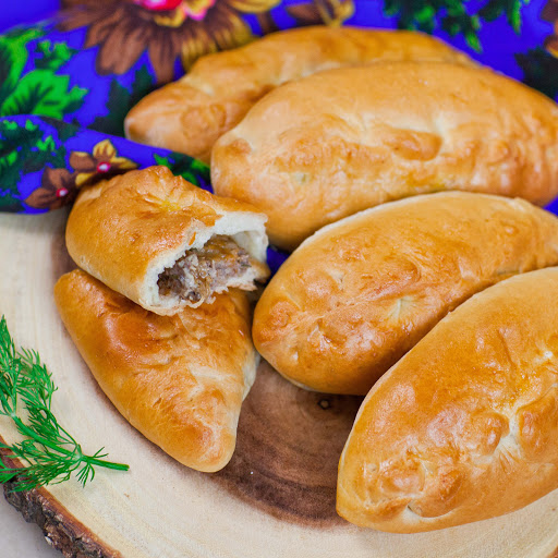 Meat Piroshki With Cheese