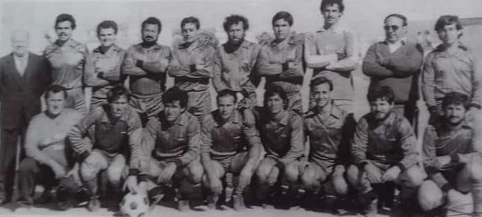 Gran encuentro de fútbol en Adra
