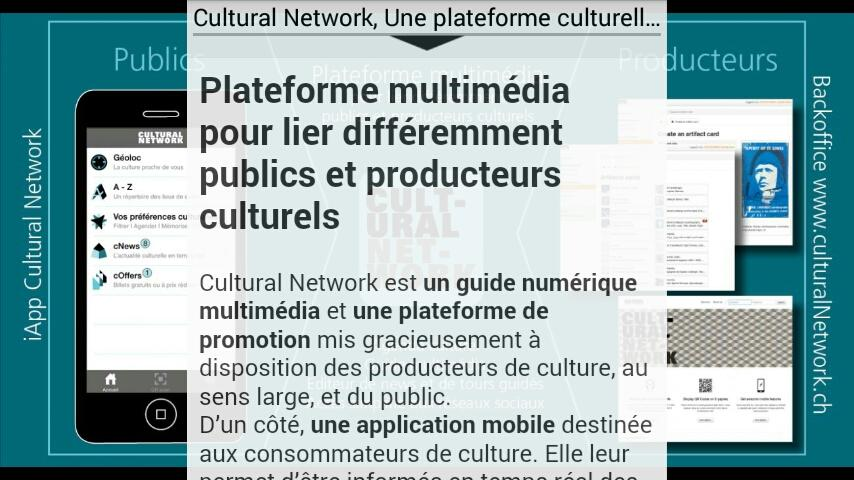 Cultural Network- screenshot