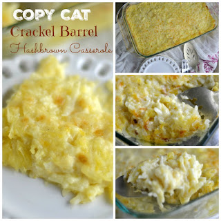 Copy Cat Crackel Barrel hashbrown Casserole.