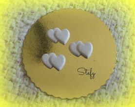 Photo: Idee per bomboniere. Perfette con le iniziali degli sposi dipinti.