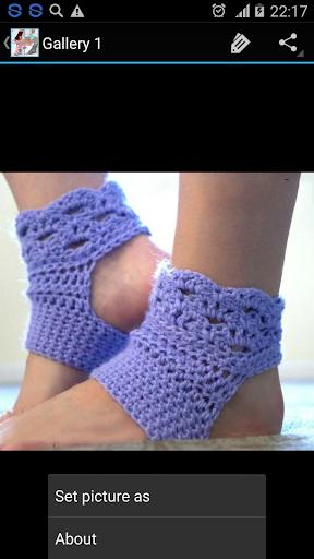 Crochet Pattern Yoga Socks