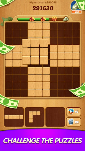 Lucky Woody Puzzle - Big Win with Wood Block Games modavailable screenshots 2
