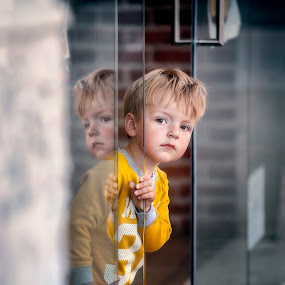 Curiosity by Andrija Vrcan - Babies & Children Child Portraits ( child, curiosity,  )