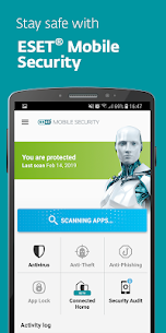 ESET Mobile Security & Antivirus PREMIUM v5.2.68.0 + Keys 1