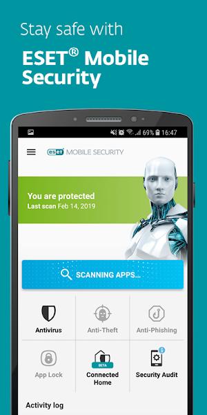 ESET Mobile Security & Antivirus PREMIUM v5.2.31.0 + Key 1