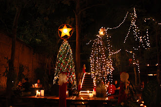 Photo: Day 269 - Xmas Evening in the Lao Lao Beer Garden