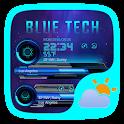 Bule Tech Weather Widget Theme icon
