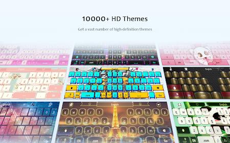 GO Keyboard Lite + Emoji 2.60 screenshot 219480
