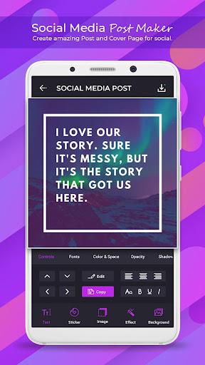Social Media Post Maker - Social Post 1.1.0 Apk for Android 1