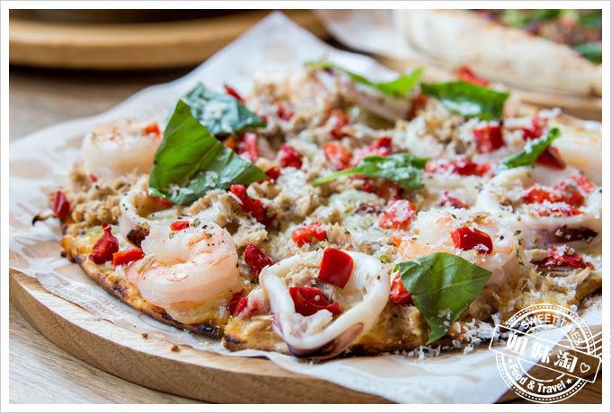 堤諾披薩菜單蒜香海島披薩