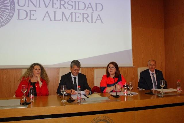 Isabel Cuadrado, Carmelo Rodríguez, Encarnación Carmona y Juan Manuel Llopis.