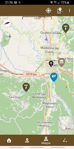 Cammino di San Francesco screenshot 4