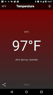 Temperature Free Screenshot 2