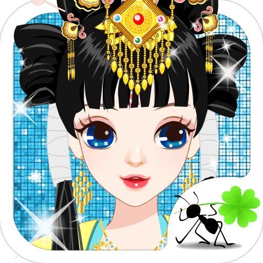 古代有佳人 - 王妃時尚秀,女生愛養成,換裝搭配遊戲 休閒 LOGO-玩APPs
