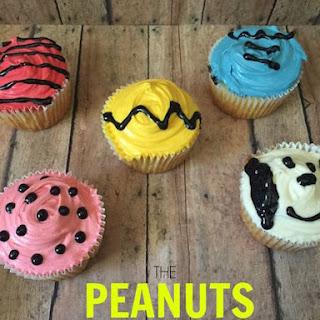 Peanuts Movie Inspired Cupcakes.