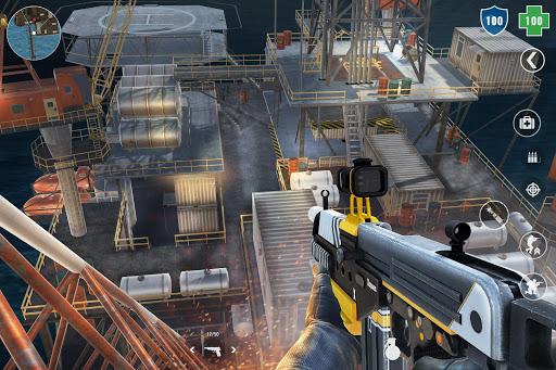 MazeMilitia LAN, Online Multijoueur jeux de guerre captures d'u00e9cran 2