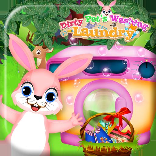 休闲のペット洗濯洗浄ゲーム LOGO-記事Game