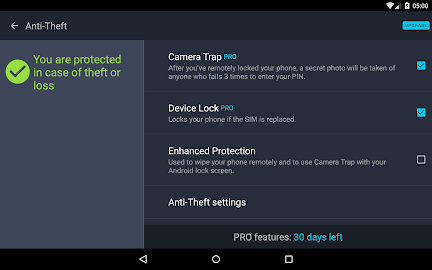 AVG AntiVirus FREE for Android Screenshot 16