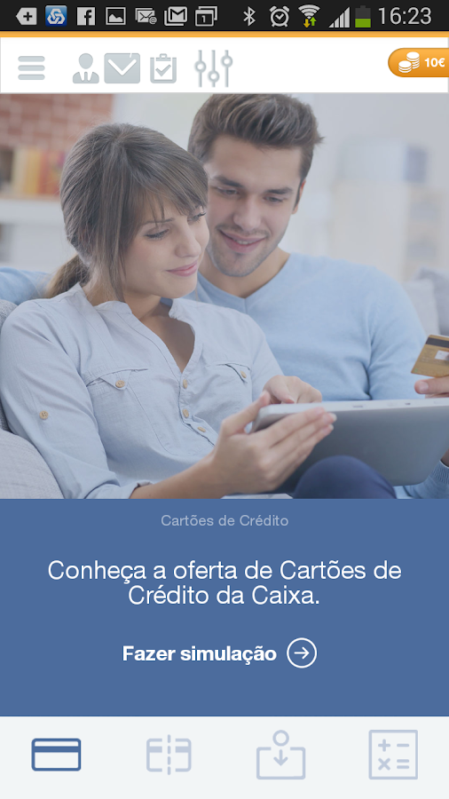 Caixadirecta- screenshot